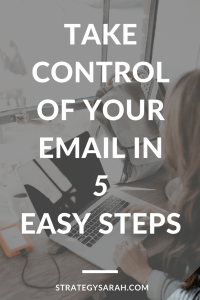 Wow! These email organization tips are super simple. Can't wait to try them in my work Outlook and my Gmail accounts! #emailorganization #organizationtips #productivity #organizationideas