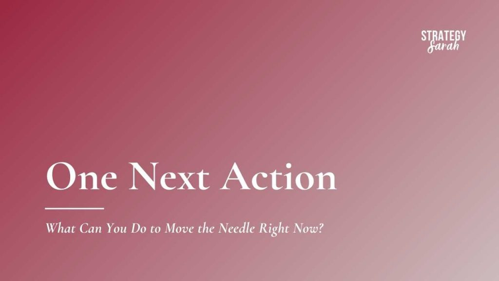 One Next Action