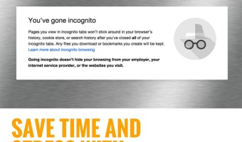 Save time and stress using Google's incognito mode | strategysarah.com #31timesavers