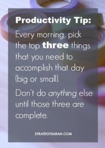 Four simple ways to manage your to-do lists and tasks