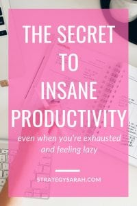 Wow! I've never felt so productive on my laziest days. These ideas are so quick and easy! #productivity #workingmom #timemanagement