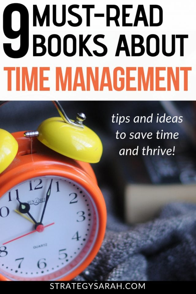 Reading these productivity and time management books will give you awesome tips and ideas for work and in life. Great for busy moms, teachers, kids, students, corporate employees, and more! #timemgmt #reading #books #readinglist #workingmom