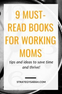 As a busy working mom, I'm always looking for tips and ideas for awesome time management books to increase my productivity and well being. #workingmom #reading #readinglist #books #timemgmt