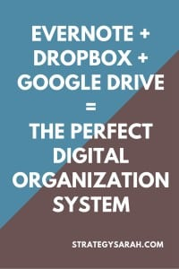 The system to organize digital information that's currently working fantastic for me