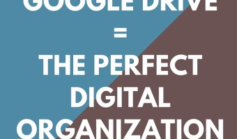 One way to effectively organize digital information