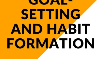 On goal-setting and habit formation