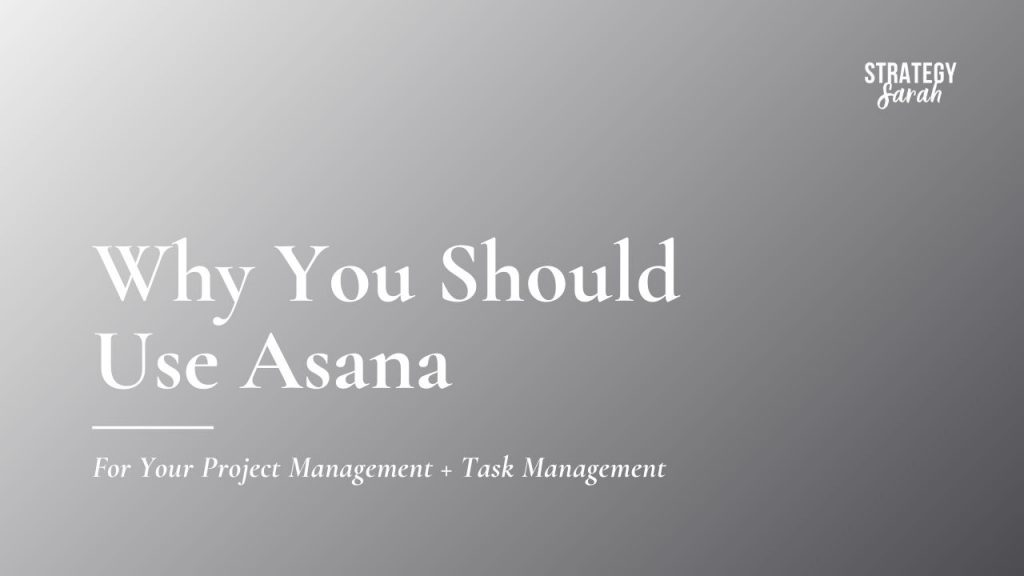 Why you should use Asana's free version for project management